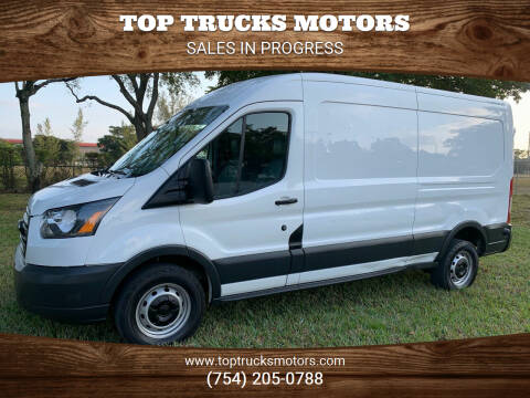 2017 Ford Transit Cargo for sale at Top Trucks Motors in Pompano Beach FL