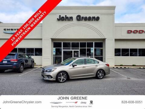 2019 Subaru Legacy for sale at John Greene Chrysler Dodge Jeep Ram in Morganton NC
