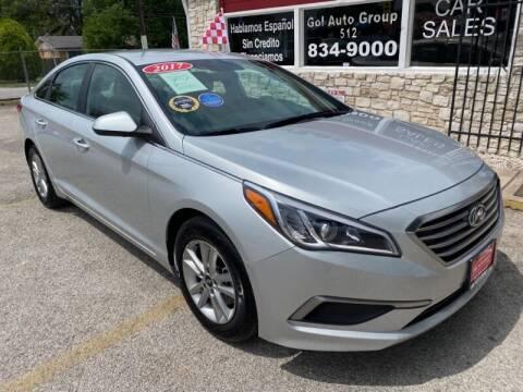 2017 Hyundai Sonata for sale at GOL Auto Group in Austin TX