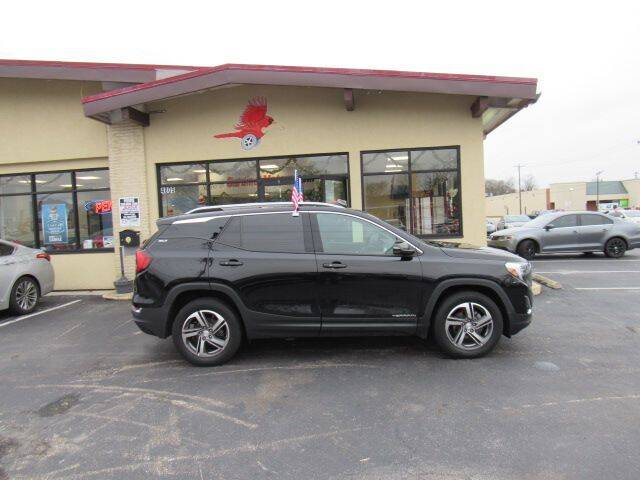 2018 GMC Terrain for sale at Cardinal Motors in Fairfield OH