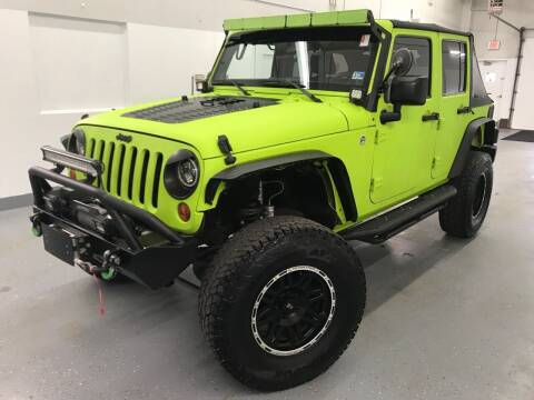 2012 Jeep Wrangler Unlimited for sale at TOWNE AUTO BROKERS in Virginia Beach VA