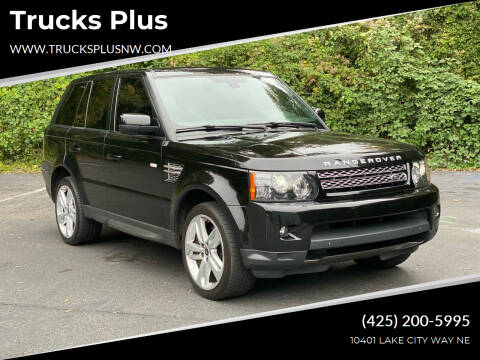 2013 Land Rover Range Rover Sport for sale at Trucks Plus in Seattle WA