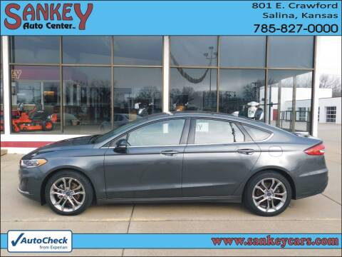 2020 Ford Fusion for sale at Sankey Auto Center, Inc in Salina KS