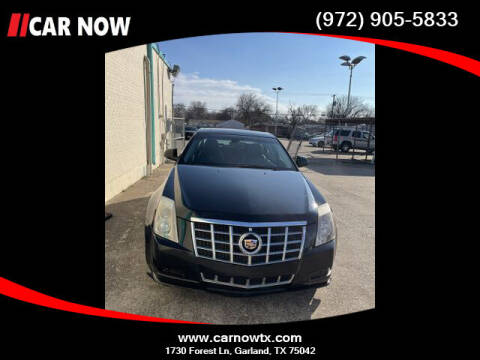 2012 Cadillac CTS for sale at Car Now Dallas in Dallas TX