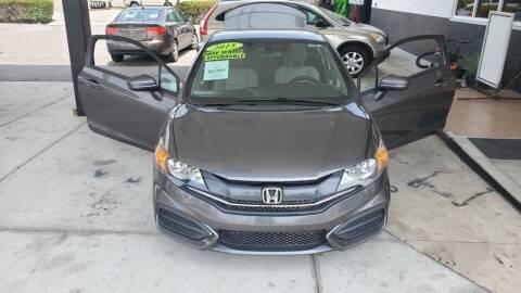 2015 Honda Civic for sale at HCC AUTO SALES INC in Sarasota FL