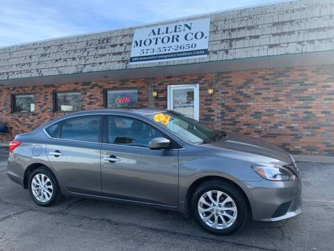 2017 Nissan Sentra for sale at Allen Motor Company in Eldon MO