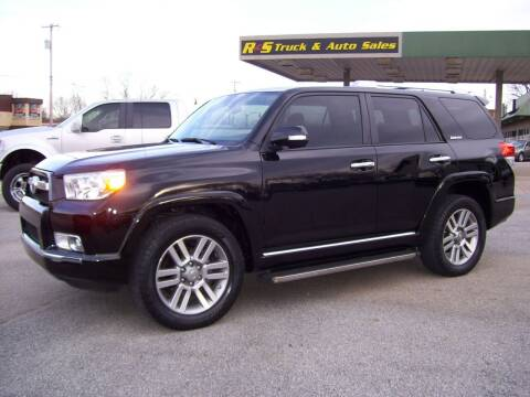 2010 Toyota 4Runner for sale at R & S TRUCK & AUTO SALES in Vinita OK