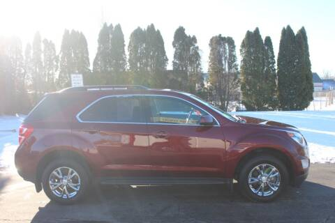 2016 Chevrolet Equinox for sale at D & B Auto Sales LLC in Washington Township MI