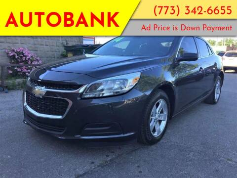 2014 Chevrolet Malibu for sale at AutoBank in Chicago IL