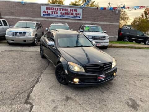 2008 Mercedes-Benz C-Class for sale at Brothers Auto Group in Youngstown OH