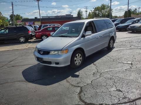 2002 Honda Odyssey for sale at Flag Motors in Columbus OH