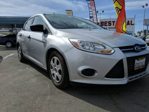 2014 Ford Focus for sale at Best Deal Auto Sales in Stockton CA