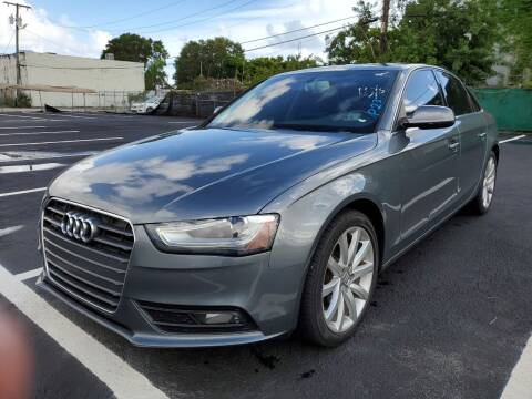 2013 Audi A4 for sale at Eden Cars Inc in Hollywood FL