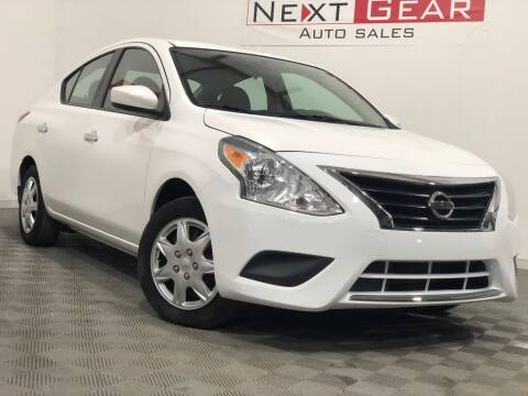 2015 Nissan Versa for sale at Next Gear Auto Sales in Westfield IN