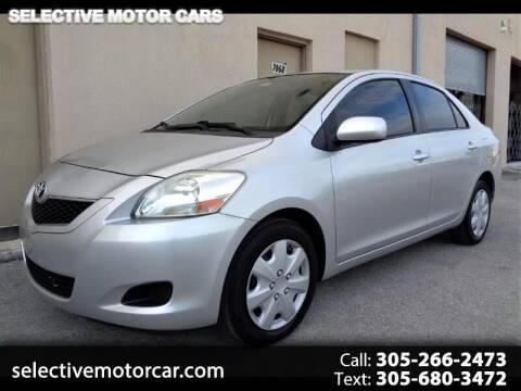 2012 Toyota Yaris for sale at Selective Motor Cars in Miami FL