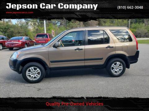2003 Honda CR-V for sale at Jepson Car Company in Saint Clair MI