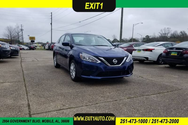 2019 Nissan Sentra for sale at Exit 1 Auto in Mobile AL