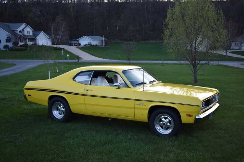 1970 Plymouth Duster for sale at Hooked On Classics in Watertown MN