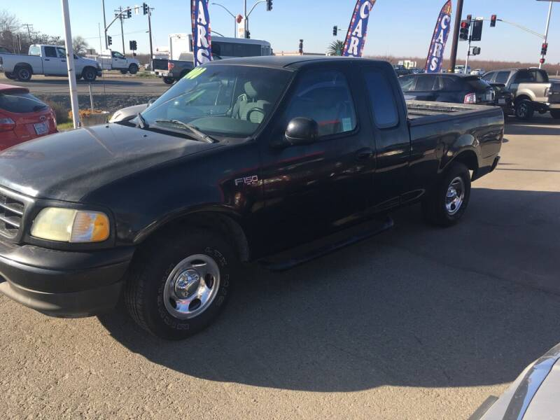 2002 Ford F-150 for sale at CONTINENTAL AUTO EXCHANGE in Lemoore CA