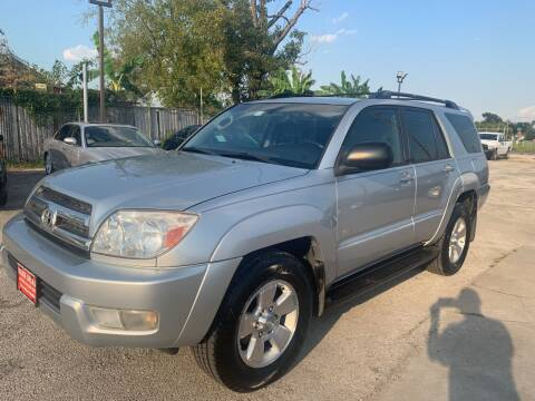 2005 Toyota 4Runner for sale at FAIR DEAL AUTO SALES INC in Houston TX