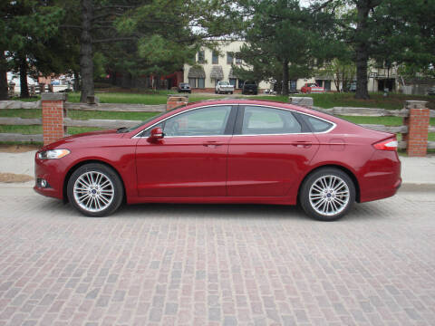 2016 Ford Fusion for sale at Walter Motor Company in Norton KS