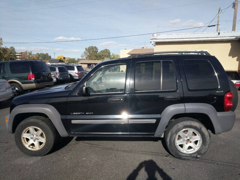2002 Jeep Liberty for sale at Creekside Auto Sales in Pocatello ID
