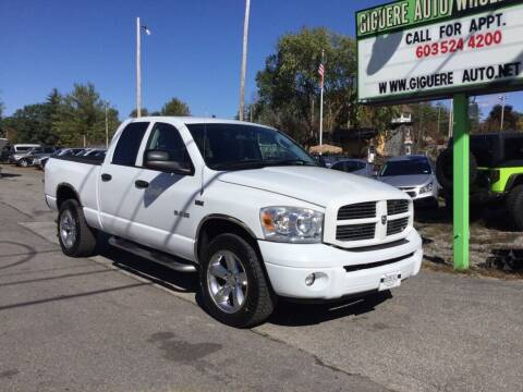 2008 Dodge Ram Pickup 1500 for sale at Giguere Auto Wholesalers in Tilton NH
