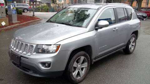 2017 Jeep Compass for sale at Cypress Automart in Brookline MA