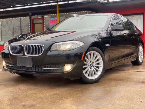 2012 BMW 5 Series for sale at Cash Car Outlet in Mckinney TX