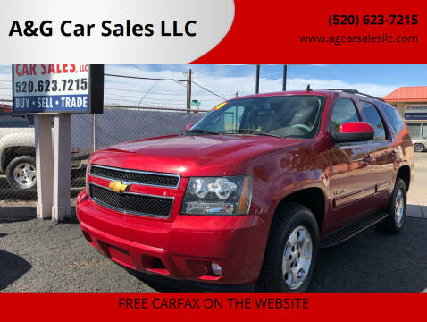 2014 Chevrolet Tahoe for sale at A&G Car Sales  LLC in Tucson AZ