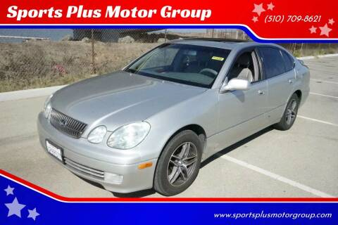 2001 Lexus GS 300 for sale at Sports Plus Motor Group LLC in Sunnyvale CA