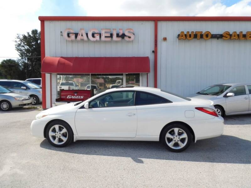 2007 Toyota Camry Solara for sale at Gagel's Auto Sales in Gibsonton FL