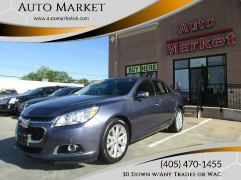 2014 Chevrolet Malibu for sale at Auto Market in Oklahoma City OK