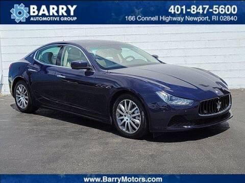 2014 Maserati Ghibli for sale at BARRYS Auto Group Inc in Newport RI