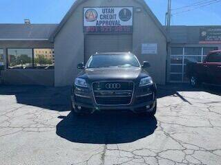 2008 Audi Q7 for sale at Utah Credit Approval Auto Sales in Murray UT