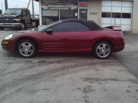 2005 Mitsubishi Eclipse Spyder for sale at Settle Auto Sales TAYLOR ST. in Fort Wayne IN