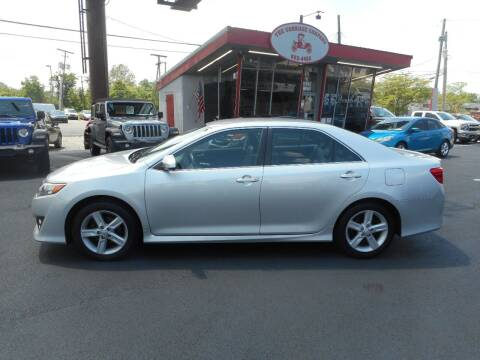 2012 Toyota Camry for sale at The Carriage Company in Lancaster OH