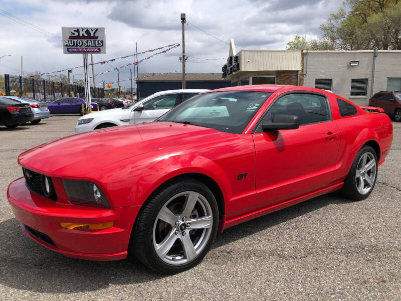 2006 Ford Mustang for sale at SKY AUTO SALES in Detroit MI
