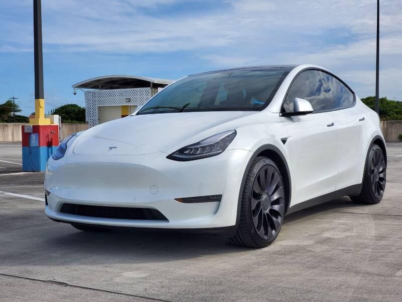 2020 Tesla Model Y for sale at EV Direct in Lauderhill FL
