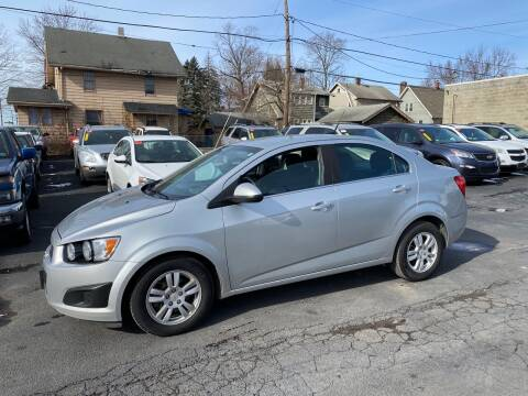 2012 Chevrolet Sonic for sale at E & A Auto Sales in Warren OH