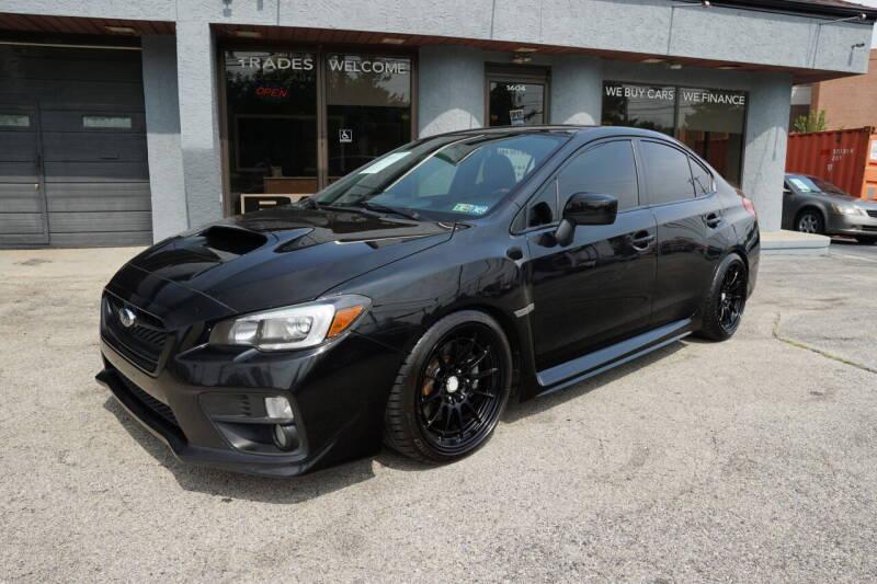 2015 Subaru WRX for sale at PA Motorcars in Conshohocken PA