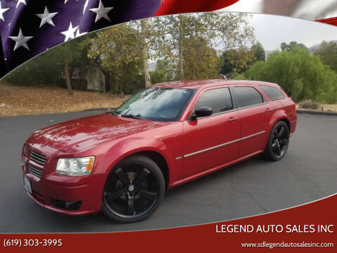 2008 Dodge Magnum for sale at Legend Auto Sales Inc in Lemon Grove CA