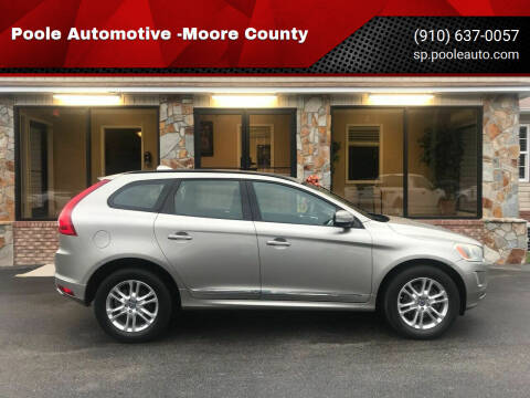2015 Volvo XC60 for sale at Poole Automotive in Laurinburg NC