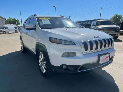 2015 Jeep Cherokee for sale at AP Auto Brokers in Longmont CO