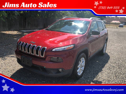 2014 Jeep Cherokee for sale at Jims Auto Sales in Lakehurst NJ