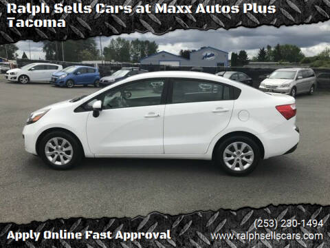 2013 Kia Rio for sale at Ralph Sells Cars at Maxx Autos Plus Tacoma in Tacoma WA