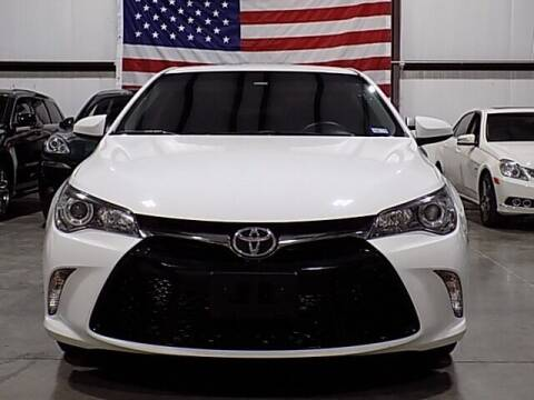 2017 Toyota Camry for sale at Texas Motor Sport in Houston TX