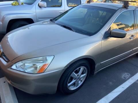 2003 Honda Accord for sale at Coast Auto Motors in Newport Beach CA