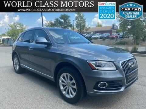 2014 Audi Q5 for sale at World Class Motors LLC in Noblesville IN
