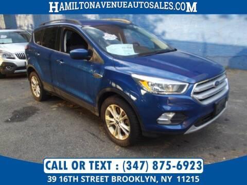 2018 Ford Escape for sale at Hamilton Avenue Auto Sales in Brooklyn NY